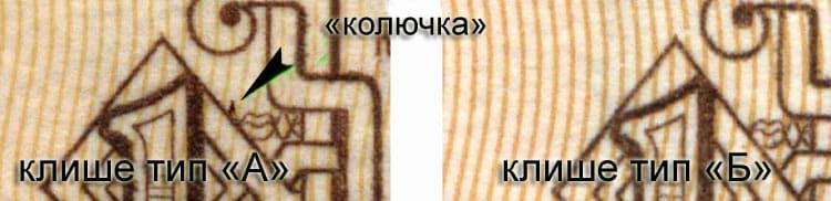 бумажный 1 рубль 1961 года варианты клише