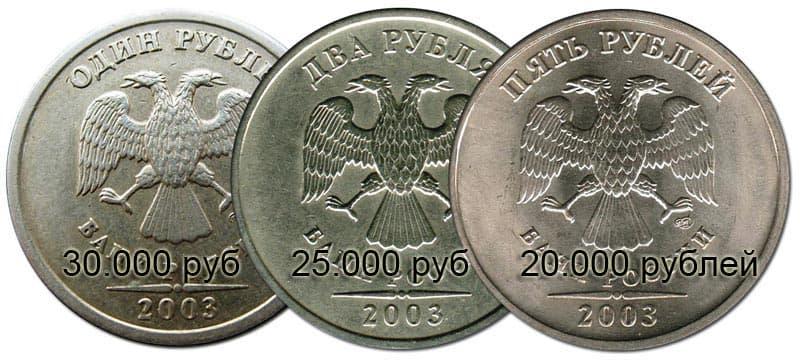 Ценные монеты России и их стоимость
