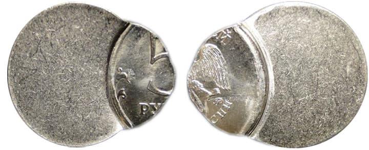 редкие 5 рублей 1998